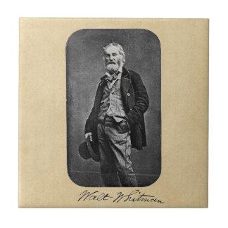 Walt Whitman como hombre joven Azulejo Cerámica
