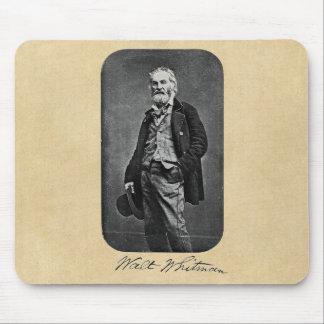 Walt Whitman como hombre joven Tapetes De Raton