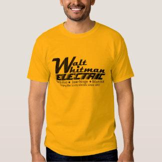 Walt Whitman eléctrico Remera