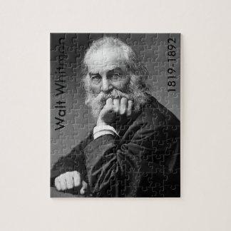 Walt Whitman en la C.C. de Washington Puzzle