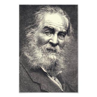 Walt Whitman Engraving, Age 52 Photo Print