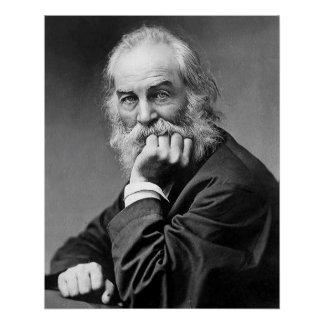 Walt Whitman Essential Portrait, Age 50 Poster