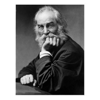 "Walt Whitman ""Face Always Toward the Sunshine"" Postcard"