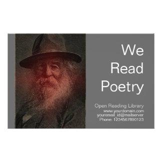 Walt Whitman Custom Flyer