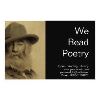 Walt Whitman Personalized Flyer