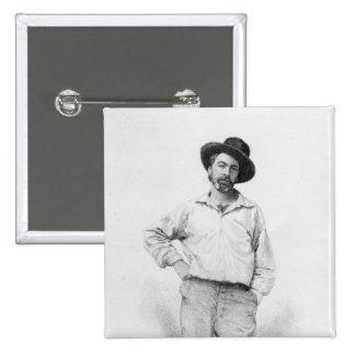 Walt Whitman, frontispiece a las 'hojas de Pin Cuadrado