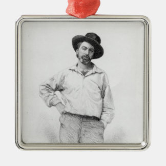 Walt Whitman, frontispiece to 'Leaves of Metal Ornament