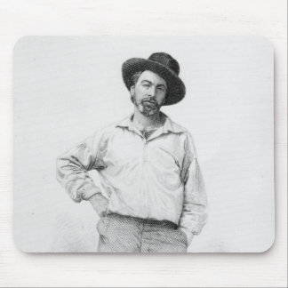 Walt Whitman, frontispiece to 'Leaves of Mouse Pad