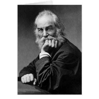 Walt Whitman ❝Have You Learned the Lessons...❞ Cards