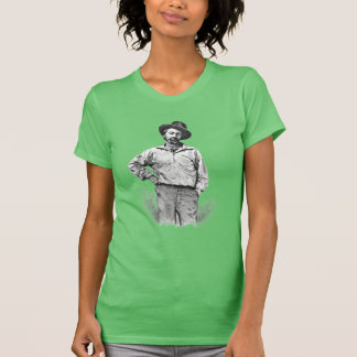 "Walt Whitman ""I believe a leaf of grass"" Quotation Tee Shirt"