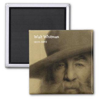 Walt Whitman Imán Para Frigorifico