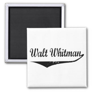 Walt Whitman Imán Cuadrado