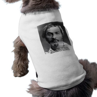 """Walt Whitman """"Insult The Soul"""" Quote Gifts & Cards Tee"""