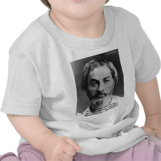 """Walt Whitman """"Insult The Soul"""" Quote Gifts & Cards Shirt"""