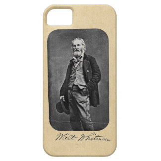 Walt Whitman Leaves of Grass Frontispiece iPhone SE/5/5s Case