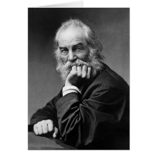"""Walt Whitman """"Making of the best persons"""" Greeting Cards"""