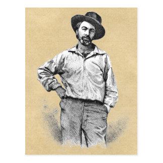 Walt Whitman ❝My barbaric yawp❞ Quote Postcard