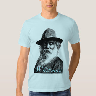 Walt Whitman Photo Tee Shirt