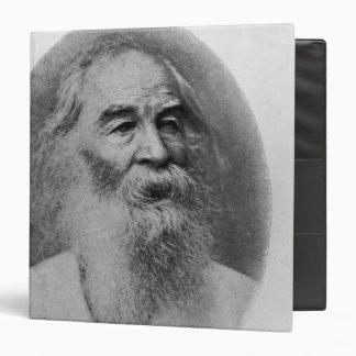 Walt Whitman, photographed in 1889 Binder