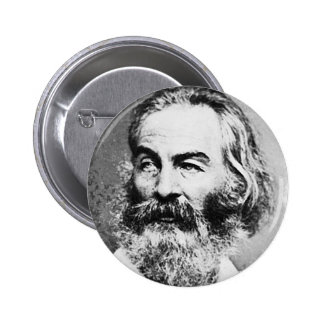 Walt Whitman Pin Redondo 5 Cm