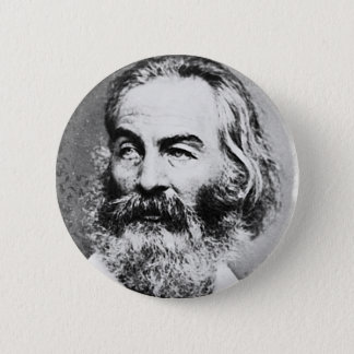 Walt Whitman Pinback Button