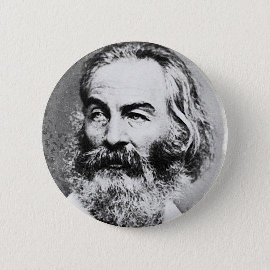 Walt Whitman Pinback Button