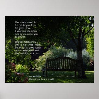 Walt Whitman - Poem Poster