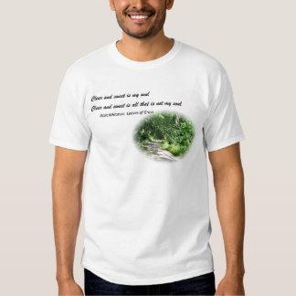 Walt Whitman Poetry T Shirt