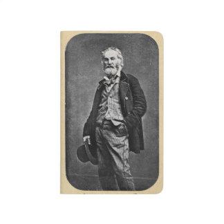 Walt Whitman Portrait as a Young Man Journal