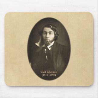 Walt Whitman Portrait in New Orleans 1848 Mouse Pad