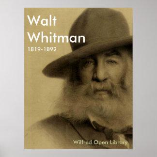 Walt Whitman Póster