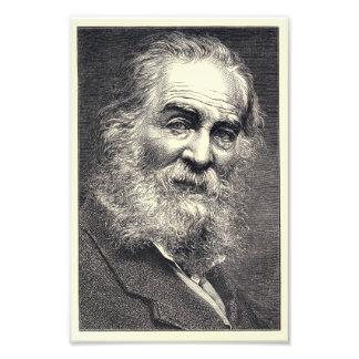 Walt Whitman que graba, edad 52 Fotografías