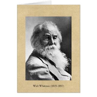 Walt Whitman ❝Re-examina todos lo que usted ha Felicitaciones