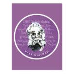 Walt Whitman Tarjetas Postales