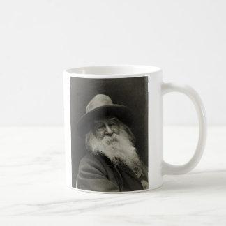 Walt Whitman Taza Básica Blanca