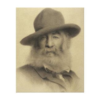 Walt Whitman: The Good Grey Poet Canvas Print