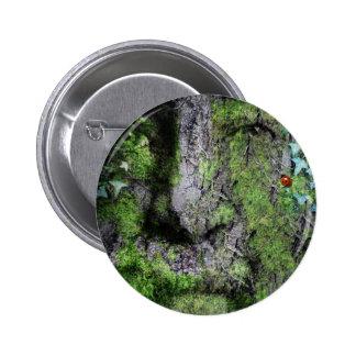 """""""Walt Whitman: The Green Man"""" Button"""