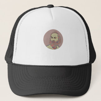 Walt Whitman Trucker Hat