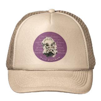 Walt Whitman Trucker Hat