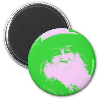 Walt Whitman Two-Tone Magnet