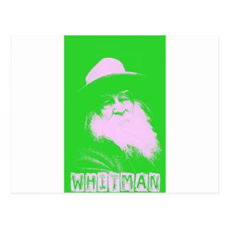 Walt Whitman Two-Tone Postcard