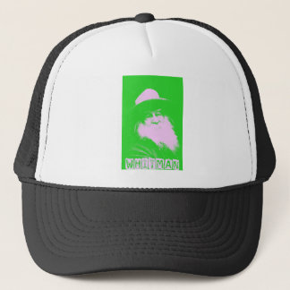 Walt Whitman Two-Tone Trucker Hat