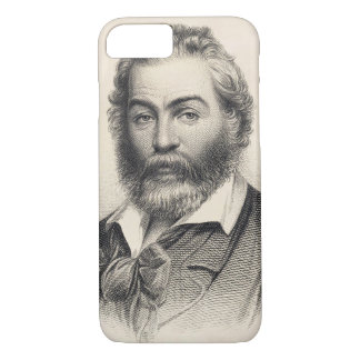 Walt Whitman Woodcut Engraving 1860 iPhone 7 Case