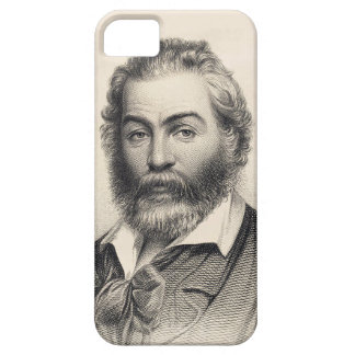 Walt Whitman Woodcut Engraving 1860 iPhone SE/5/5s Case