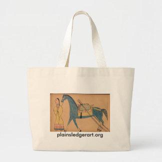 Walter Bone Shirt :  Ancient Way of Travelling Tote Bags