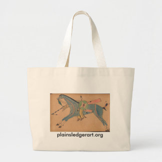 Walter Bone Shirt:  Warrior #2 Canvas Bag