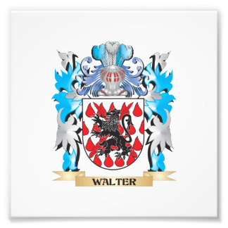 Walter Coat of Arms - Family Crest Photo Print
