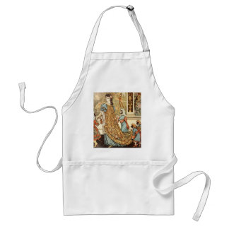 Walter Crane, Beauty and the Beast, 1875 Adult Apron