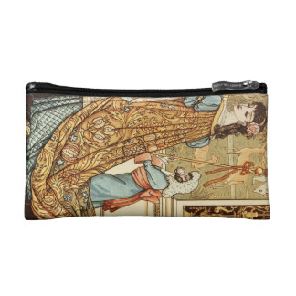 Walter Crane, Beauty and the Beast, 1875 Makeup Bags