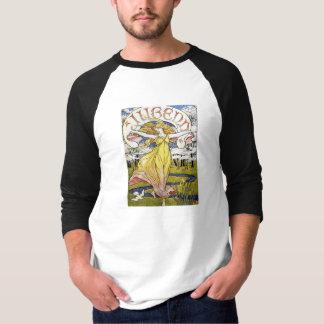 """Walter Crane """"Jugend"""" Art Nouveau T-Shirt"""